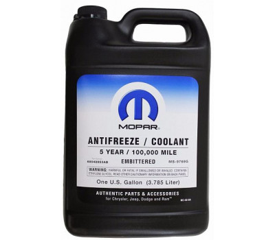 Антифриз готовый красный MOPAR Prediluted antifreeze/Cooolant 5-year оптом и в розницу