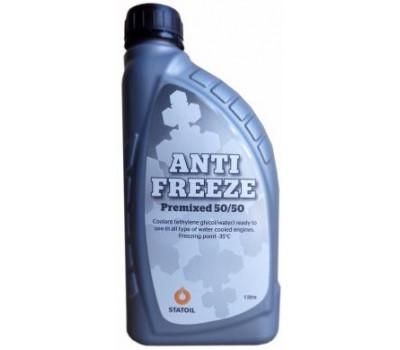 Антифриз готовый синий STATOIL Antifreeze Premix 50/50 оптом и в розницу