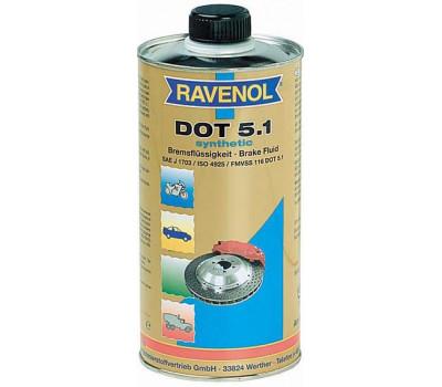 Тормозная жидкость RAVENOL DOT-5.1 оптом и в розницу