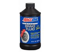 Тормозная жидкость AMSOIL DOT 3 and DOT 4 Synthetic Brake Fluid