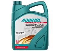 Трансмиссионное масло ADDINOL Getriebeol GS 75W-90