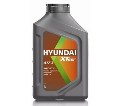 Трансмиссионное масло HYUNDAI XTeer ATF 3 оптом и в розницу