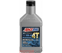AMSOIL 100% Synthetic 4T Performance 4-Stroke Motorcycle Oil SAE 10W-40