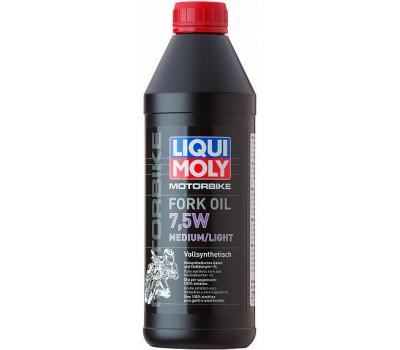 Вилочное масло LIQUI MOLY Motorbike Fork Oil Medium/Light 7,5W оптом и в розницу