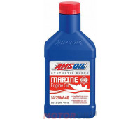 AMSOIL Synthetic Blend Marine Engine Oil 25W-40