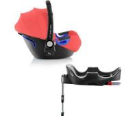 Детское автокресло BRITAX ROMER Baby-Safe i-Size + база FLEX Coral Peach