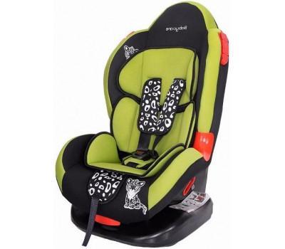 Детское автокресло BABY CARE BC-02 Lux Леопардик зеленый оптом и в розницу