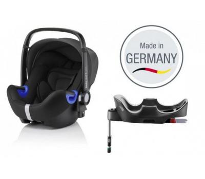 Детское автокресло BRITAX ROMER Baby-Safe i-Size + база FLEX Black Marble