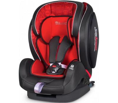 Детское автокресло WELLDON Encore ISO-Fix Traffic Red SideArmor & CuddleMe
