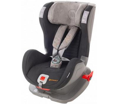 Детское автокресло AVIONAUT Glider Softy Isofix черный/серый