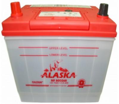 Аккумулятор ALASKA MF 75 L 80D26 calcium + оптом и в розницу