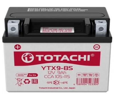 Аккумулятор TOTACHI MOTO YTX9-BS 9 а/ч R оптом и в розницу
