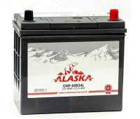 Аккумулятор ALASKA CMF 50 L 60B24 silver+