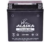 Аккумулятор ALASKA 9АЧ YTX10L-BS 12V