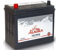 Аккумулятор ALASKA CMF 50 R 60B24 silver+