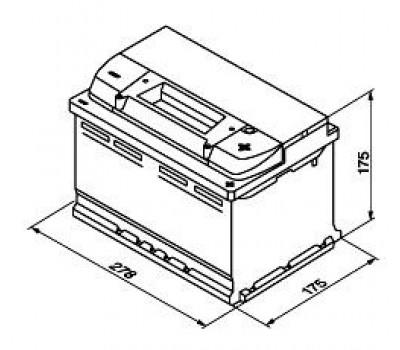 Аккумулятор BOSCH 0092S40070 оптом и в розницу