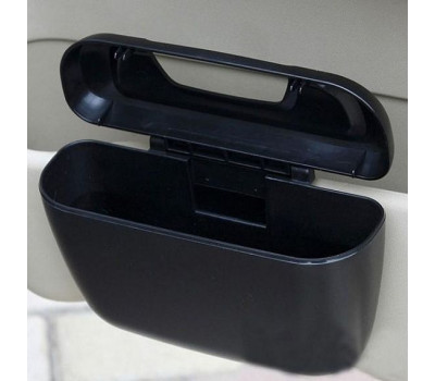 Ведёрко для мусора AIRLINE на дверной карман, черное