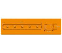 Дневные ходовые огни AIRLINE 1 Вт х 12 LED с блоком управления