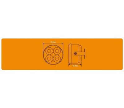 Дневные ходовые огни AIRLINE 1 Вт х 8 LED с блоком управления