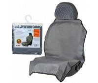 Накидка защитная AIRLINE на переднее сидение, 70х125 см, цвет серый