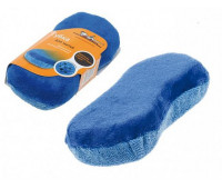 Губка AIRLINE для мытья из микрофибры Восьмерка (24х11 см)