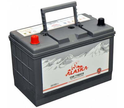 Аккумулятор ALASKA CMF 95 R 115D31 silver+ оптом и в розницу