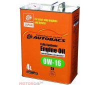 AUTOBACS Fully Synthetic 0W-16