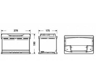 Аккумулятор TUDOR TA770 оптом и в розницу