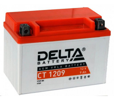 Аккумулятор Delta YTX9BS оптом и в розницу