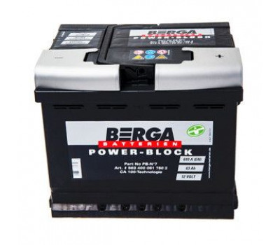 Аккумулятор BERGA 563401061 оптом и в розницу