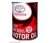 TOYOTA Motor Oil 0W-20 SN/GF-5