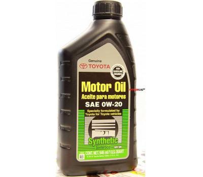 TOYOTA Motor Oil 0W-20 SN US оптом и в розницу