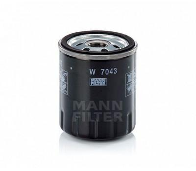 Фильтр масляный MANN W7043 оптом и в розницу