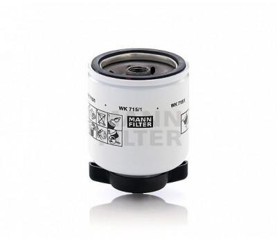 Фильтр топливный MANN WK715/1 оптом и в розницу