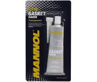 Герметик высокотемпературный MANNOL Silicone-Gasket Transparent